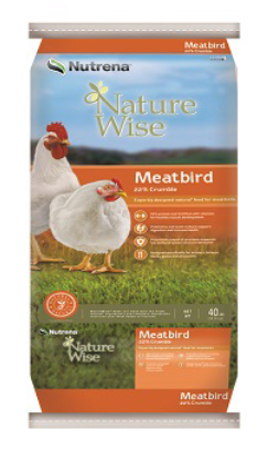 Nutrena Country Feeds Meatbird 22% Crumbles image