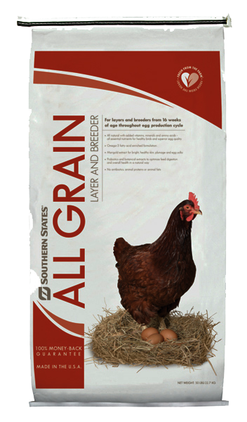All Grain Poultry Layer & Breeder Pellet image