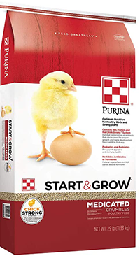 Purina® Start & Grow - Medicated image