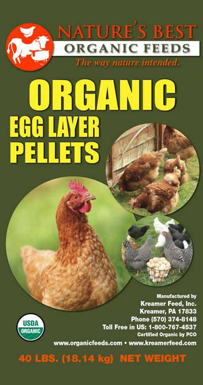 Nature's Best Organic 16% Egg Layer Pellet image