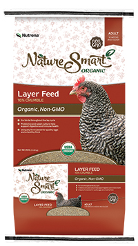 Nutrena Nature Smart Organic Layer Crumble Feed image