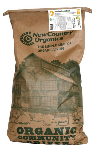New Country Organics Whole Grain Layer Feed image
