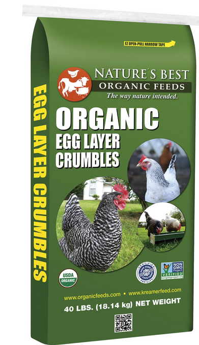 Nature's Best Organic Egg Layer Crumbles image
