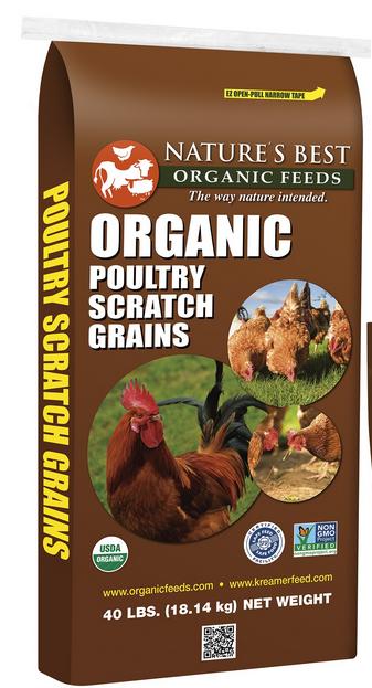 Nature's Best Organic Poultry Scratch Grains image
