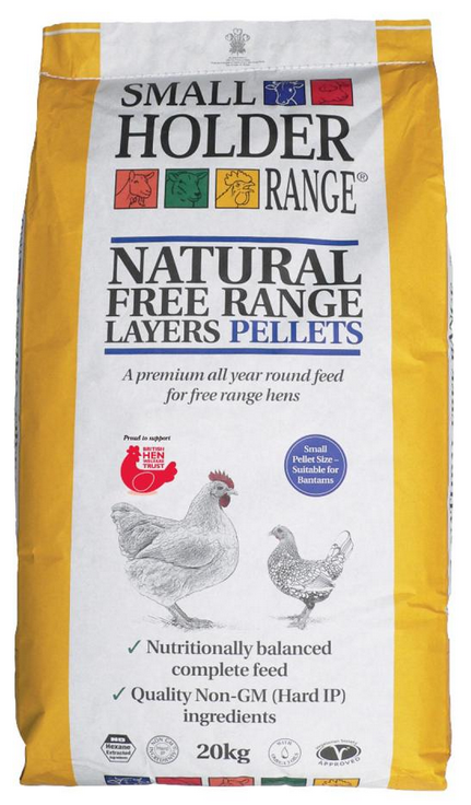 Natural Free Range Layers Pellets image