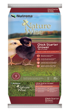 Nutrena NatureWise Chick Starter Grower Crumbles image